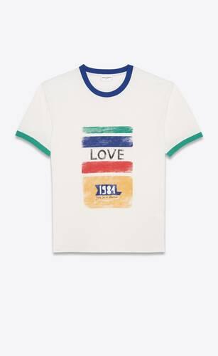 """love 1984"" t-shirt"