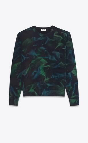 sweat tie and dye saint laurent rive gauche
