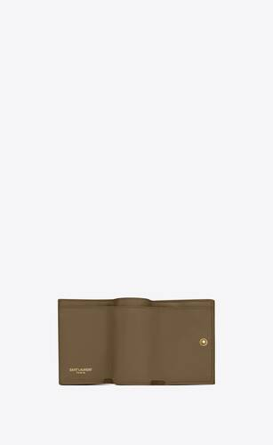 monogram origami tiny wallet in quilted grain de poudre embossed leather