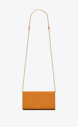 bolso saint laurent paris mini de piel mate