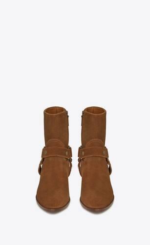 west harness booties in suede