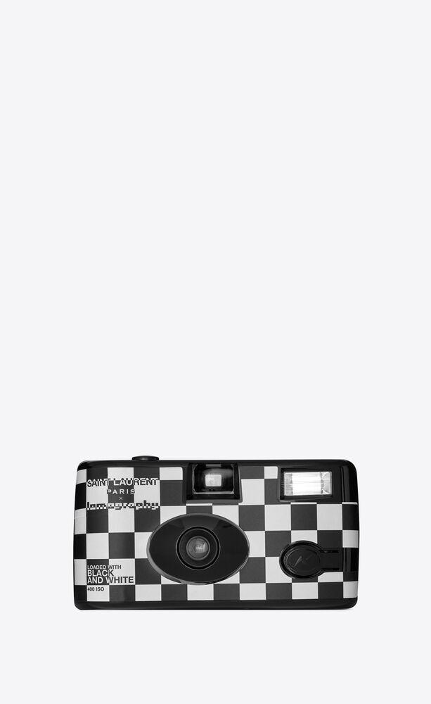 lomography checkered single-use camera