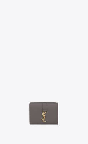 ysl line tiny wallet in smooth leather