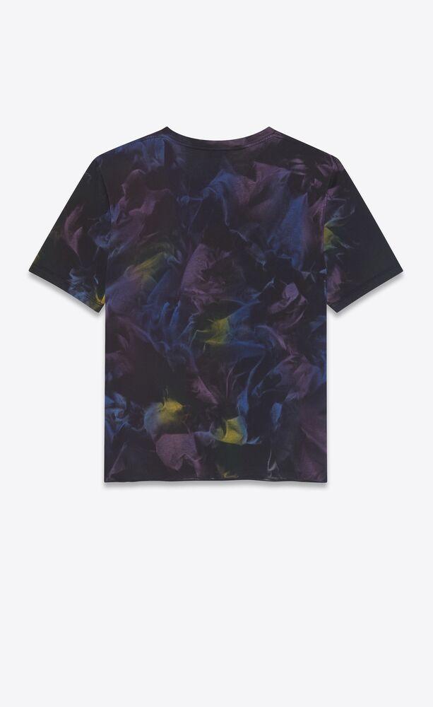 tie-dye saint laurent rive gauche t-shirt