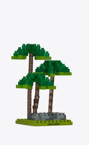 nanoblock palm trees