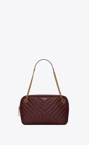 joan camera bag in y-quilted smooth leather