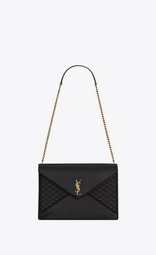 chain bag gaby in quilted lambskin