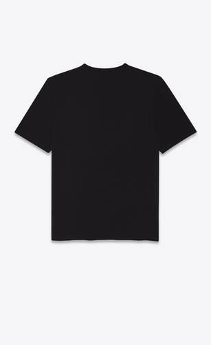 saint laurent optical illusion t-shirt