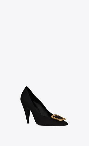 st sulpice pumps in grosgrain canvas