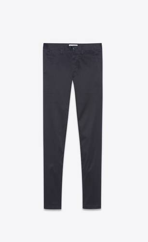 chino pants in raw stretch gabardine