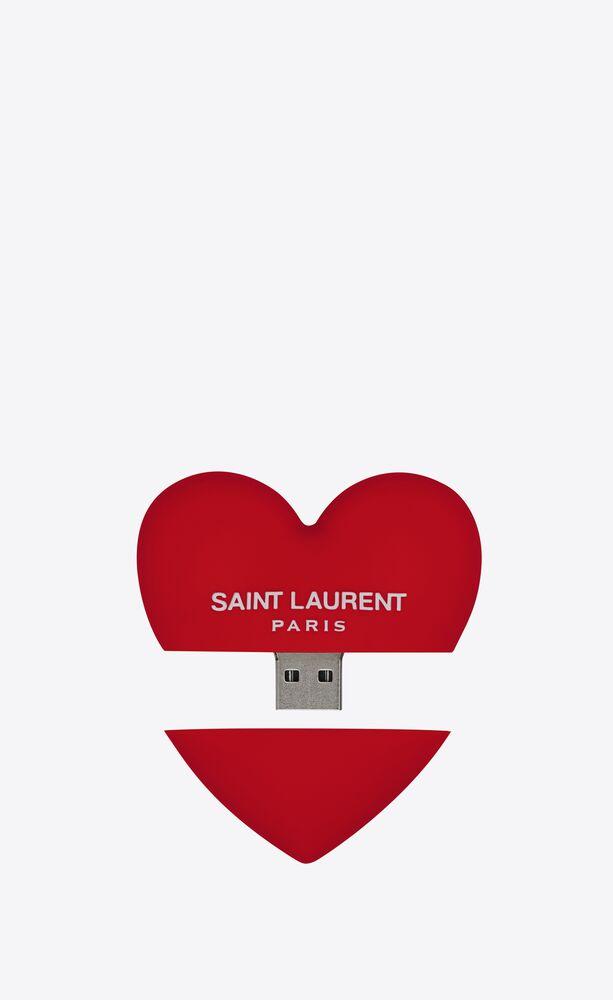 heart-shaped usb flash drive