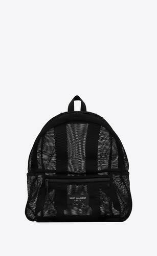 spl backpack in mesh and nylon