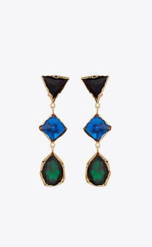 arty earrings in metal