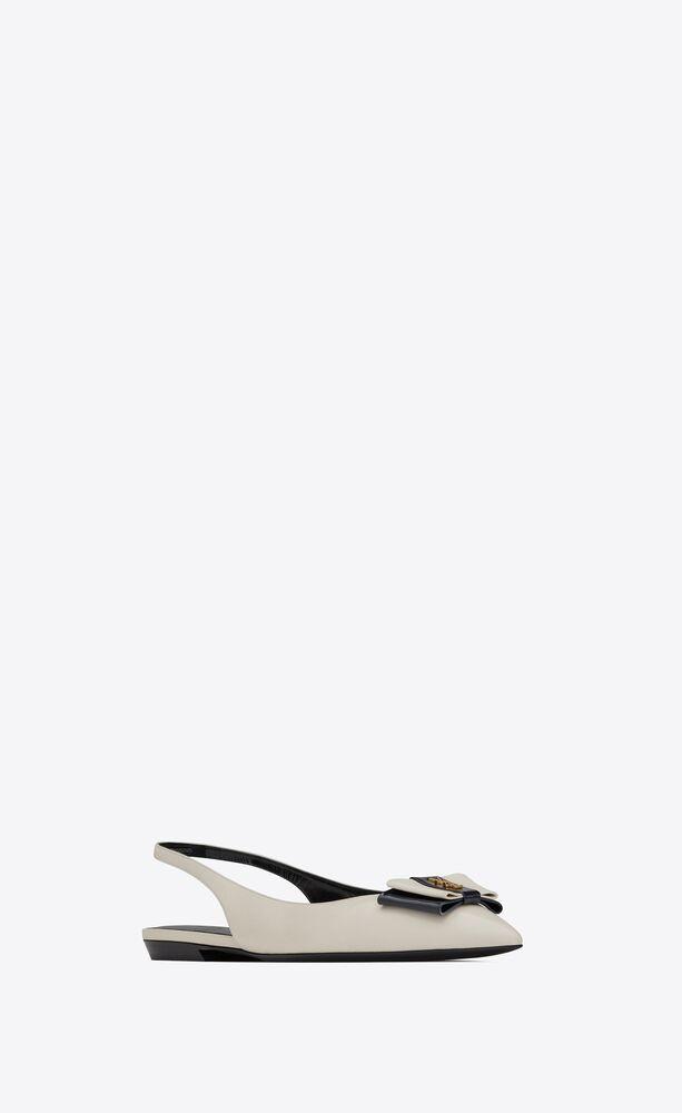 zapatos de salón anaïs de piel lisa y charol