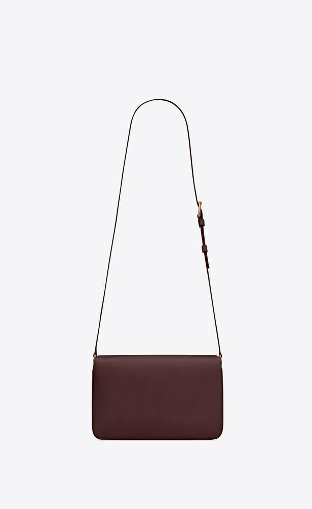 le maillon satchel en cuir lisse