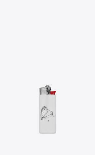 """heart trap"" print lighter"