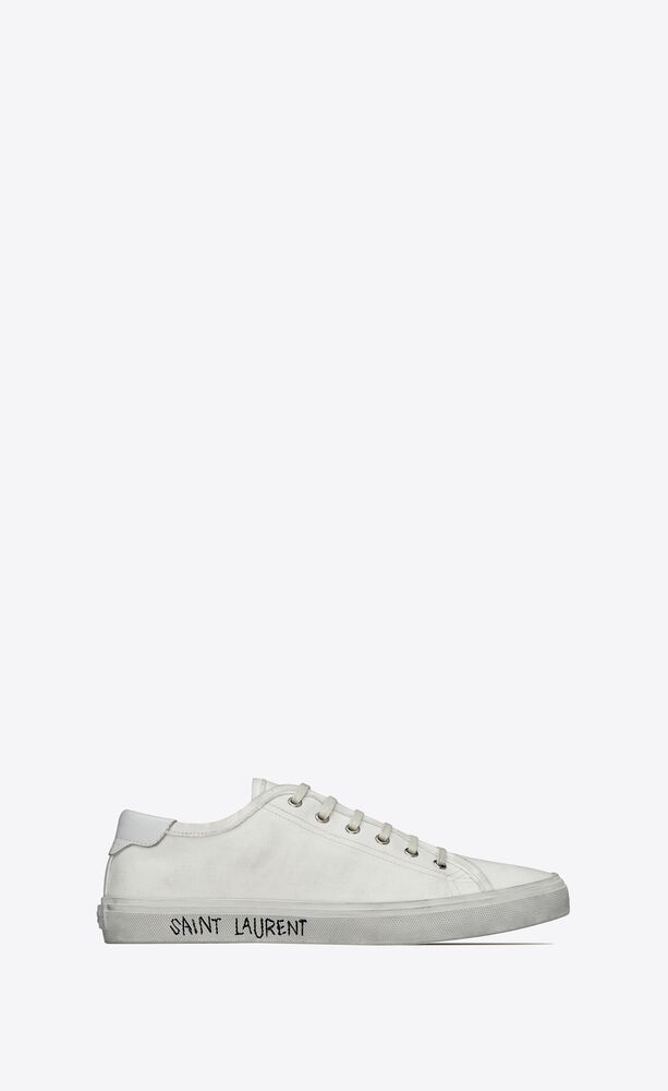 malibu sneakers in canvas and leather