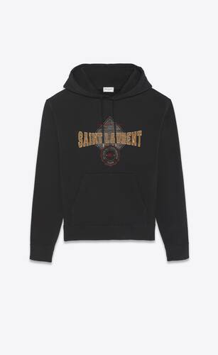 """university of saint laurent"" hoodie"