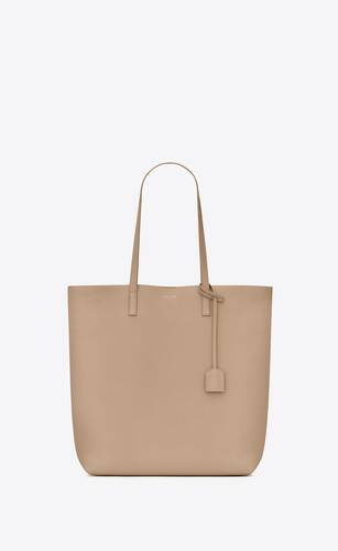 shopping bag saint laurent n/s in morbida pelle