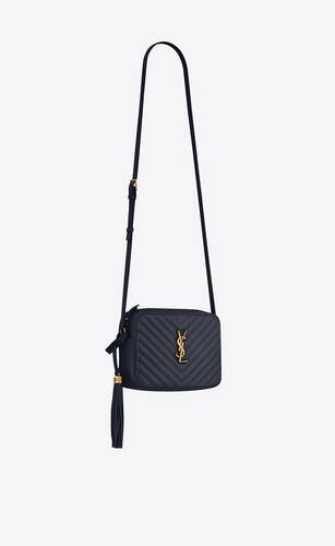 lou camera bag in quilted leather