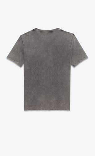 saint laurent rive gauche destroyed t-shirt