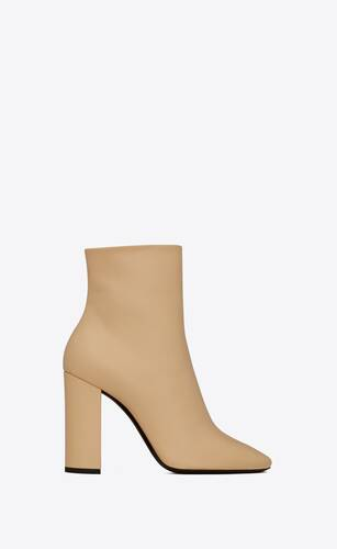 lou ankle boots in smooth leather