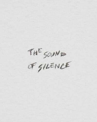 """""""sound of silence"""" t-shirt"""