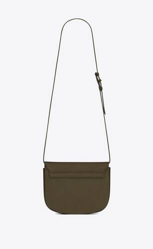 kaia medium satchel in smooth leather