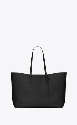 shopping bag saint laurent e/w in supple leather