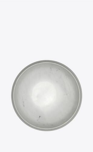small dog bowl in marble