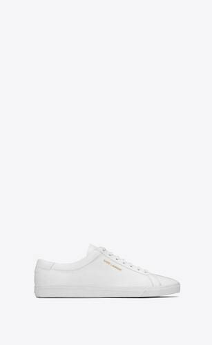 sneakers basse andy in pelle bianca