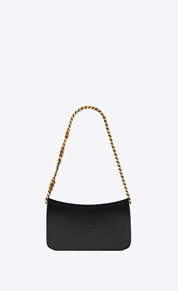 elise shoulder bag in shiny lambskin