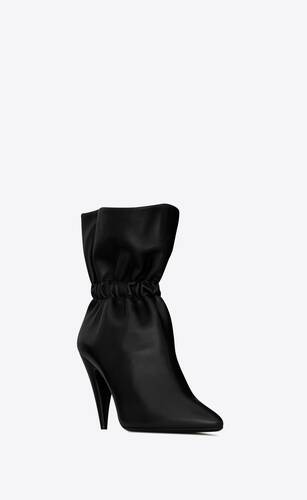 étienne ankle boots in smooth leather