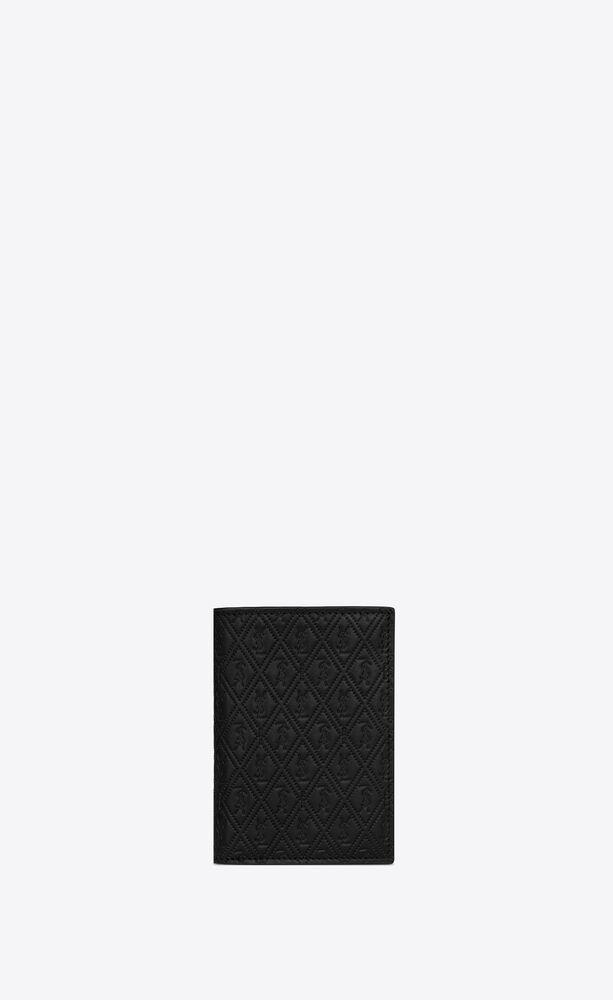 le monogramme all over portemonnaie für kreditkarten aus geprägtem glattleder