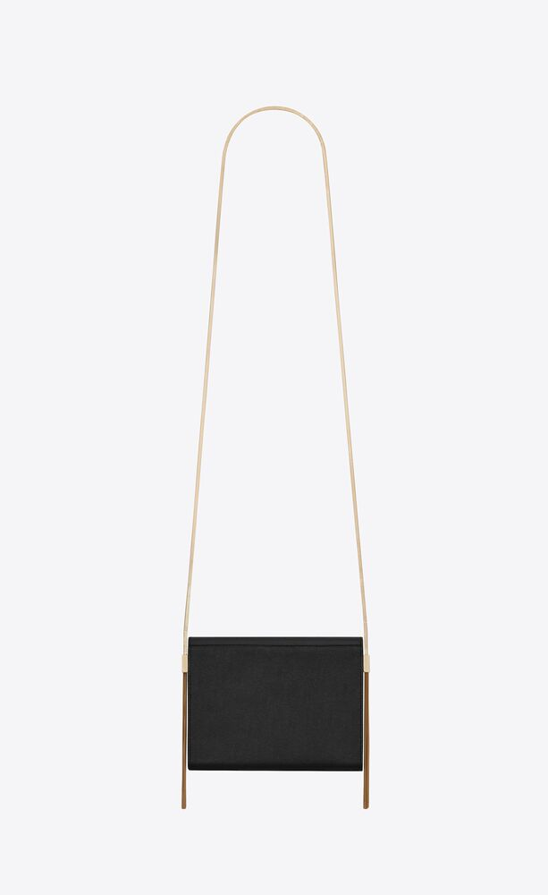 kate box bag in grain de poudre embossed leather
