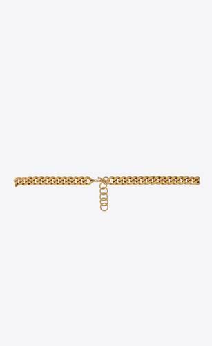 curb chain belt in metal