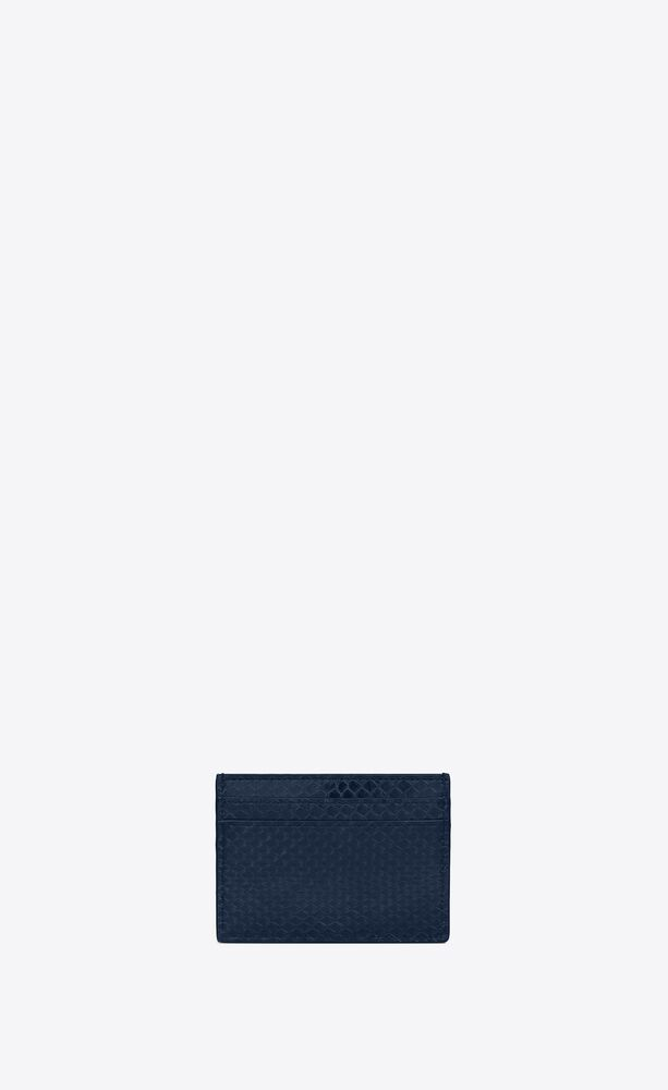 monogram credit card case in lacquered ayers