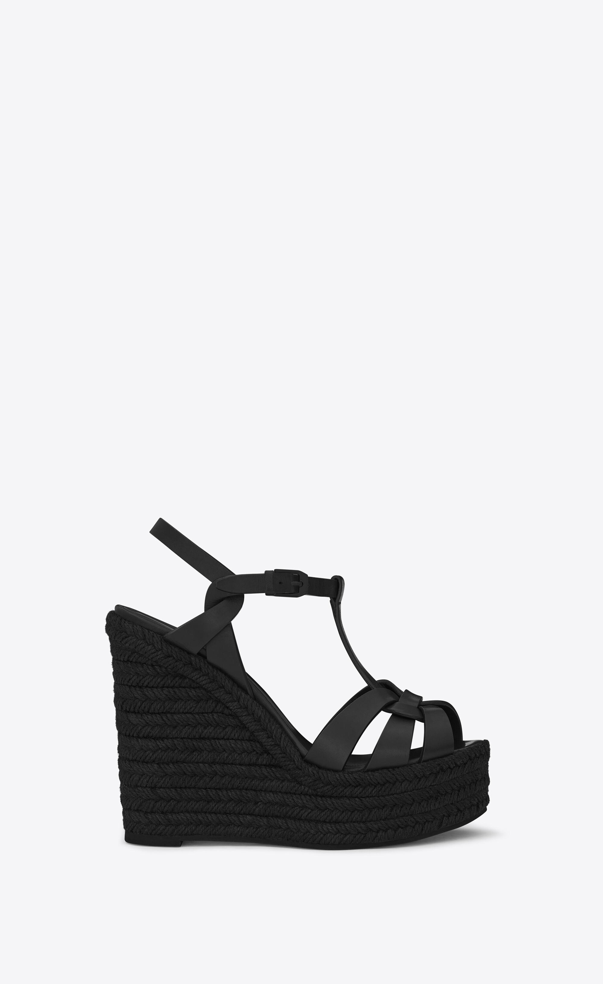 TRIBUTE espadrilles wedge in smooth