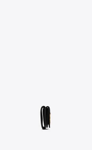 portafogli ysl petite nero in pelle