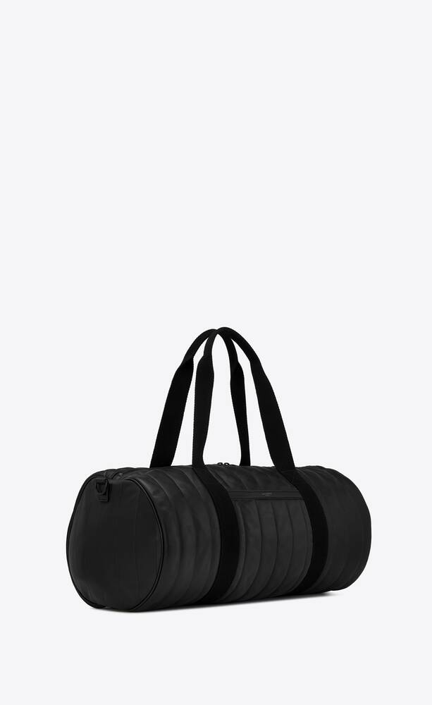 noé large sport bag in quilted lambskin