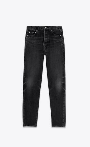 jean slim dirty medium black