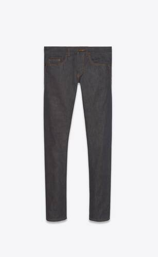 jean slim indigo raw
