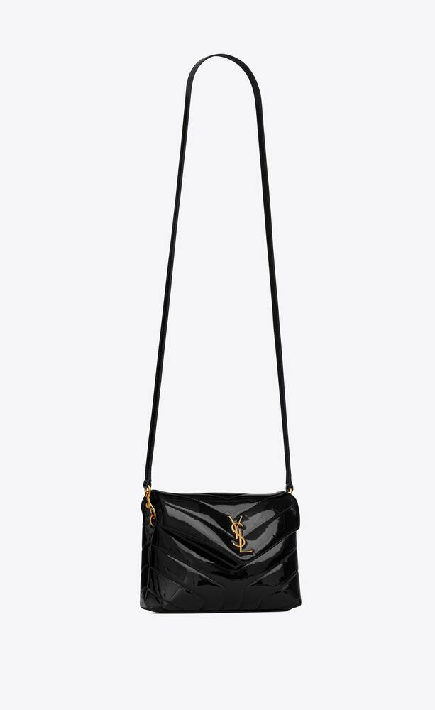 loulou toy bag in y-quilted patent leather