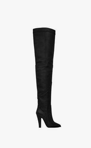 kensington over-the-knee boots in smooth leather