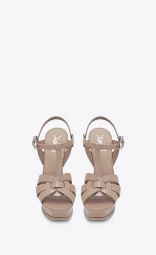 sandalias de plataforma tribute de charol