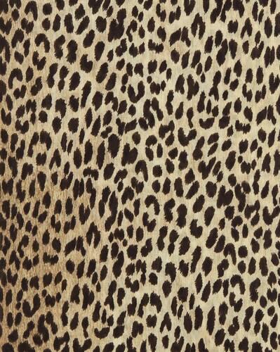 kaschmir-schal mit leoparden-print
