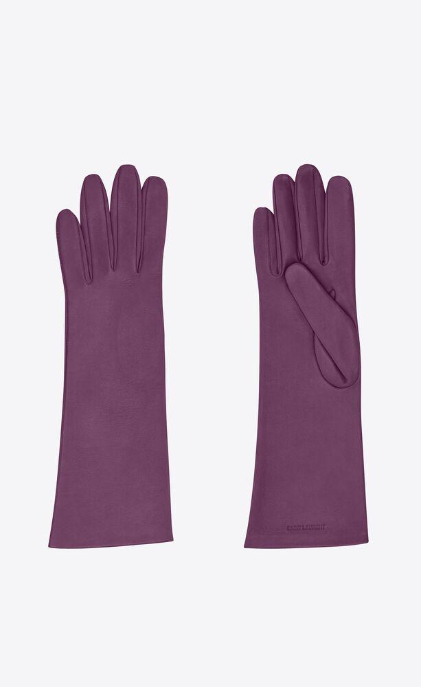 handschuhe aus glattleder