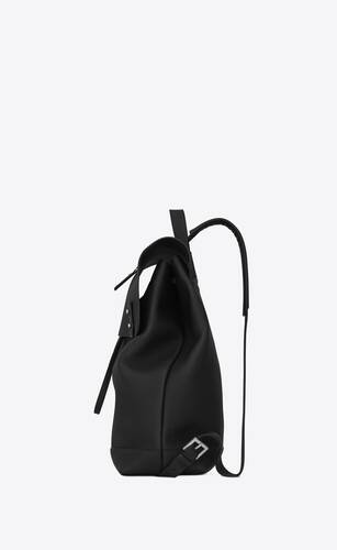 sac de jour backpack in grained leather