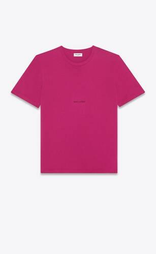 saint laurent rive gauche t-shirt