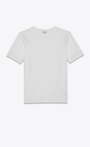 camiseta saint laurent de algodón